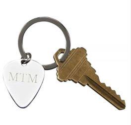 Guitar Pick Keychain