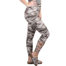 Simply Southern Lattice Legging - Camo