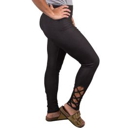 Simply Southern Lattice Legging - Black