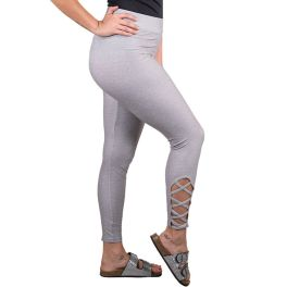 Simply Southern Lattice Legging - Grey