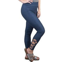 Simply Southern Lattice Leggings - Navy
