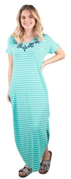 By The Sea Maxi Dress - Teal