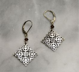 Charleston Gates St. Michael Earrings