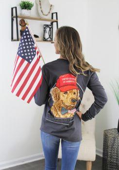 Simply Southern USA Long Sleeve T-Shirt
