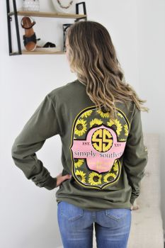 Simply Southern Bloom Long Sleeve T-Shirt