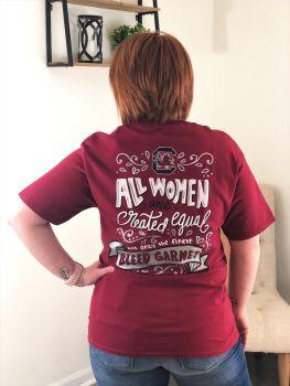 Gamecocks Bleed Garnet Short Sleeve T-Shirt