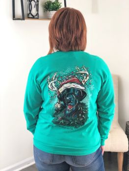 Southern Fried Cotton Unleash The Holidays Long Sleeve T-Shirt