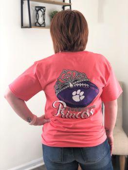 Clemson Touchdown Princess Short Sleeve T-Shirt