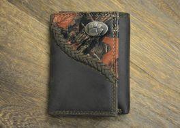 Camo Trifold Clemson Wallet