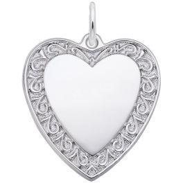 Heart Charm - Rembrandt
