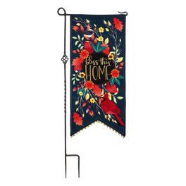 Bless This Home Birds Everlasting Impressions Textile Decor