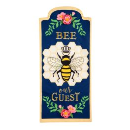 Bee Our Guest Everlasting Textile Flag
