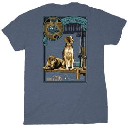 Straight Up Southern Dogs On Dock T-Shirt