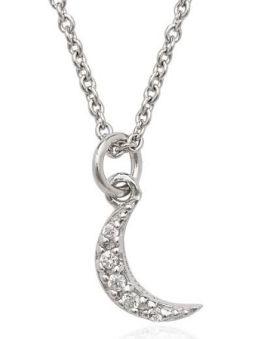 Tiny Crescent Necklace