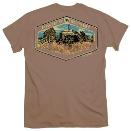 Straight Up Southern Tractor Barn T-Shirt