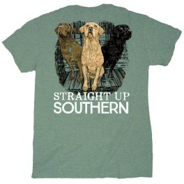 Straight Up Southern Three Dogs T-Shirt