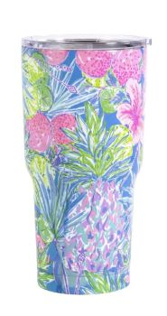 Lilly Pulitzer Stainless Steel Tumbler - Swizzle In