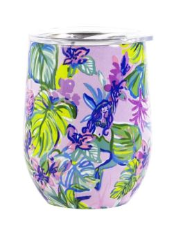 Lilly Pulitzer Stainless Steel Wine Tumbler - Mermaid in the Shade