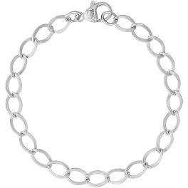 """Dapped Curb Link Classic Rembrandt Bracelet - 8"""""""