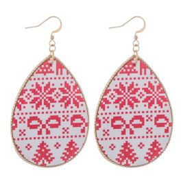 Candy Land Earrings - Red