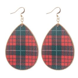 Holiday Spirit Earrings - Red