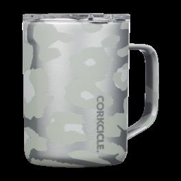 Corkcicle 16oz Coffee Mug - Snow Leopard