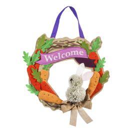Bunny Wreath Door Decor