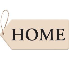 Home Door Tag