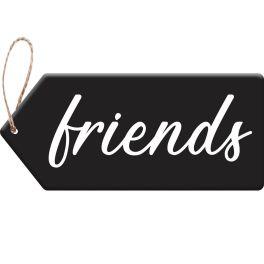 Friends Door Tag