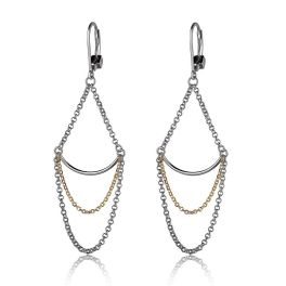 Elle Sterling Silver Waterfall Earrings