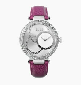 Elle Violet Strap Watch