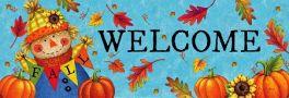 Fall Scarecrow Signature Sign