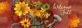 Fall Watering Can Signature Sign