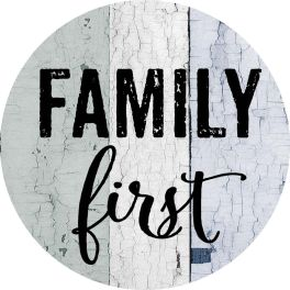 Family Accent Magnet