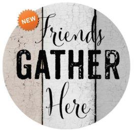 Friends Gather Accent Magnet