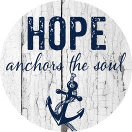 Hope Anchors Accent Magnet