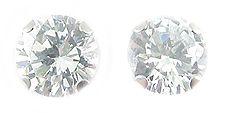 Sterling Silver 3CTTW Cubic Zirconia Earrings