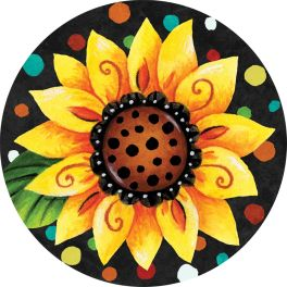 Whimsy Flowers Accent Magnet