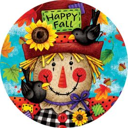 Happy Scarecrow Accent Magnet