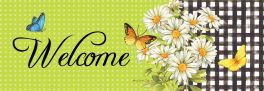 Daisies & Butterflies Signature Sign