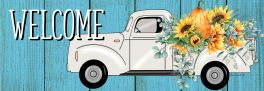 Floral Truck Signature Sign