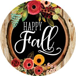 Fall Floral Stepping Stone