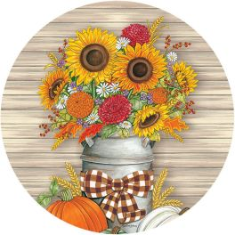 Sunflower Milk Accent Magnet