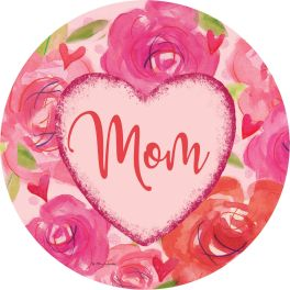 Mom Heart Stepping Stone
