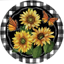 Home Sweet Sunflowers Stepping Stone