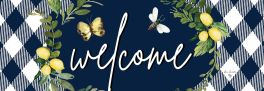 Lemon Welcome Signature Sign