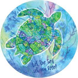 Boho Turtle Stepping Stone