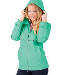 Mint New Englander Rain Jacket