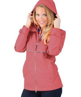 Mauve New Englander Rain Jacket