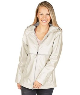 Ivory Pearl New Englander Rain Jacket